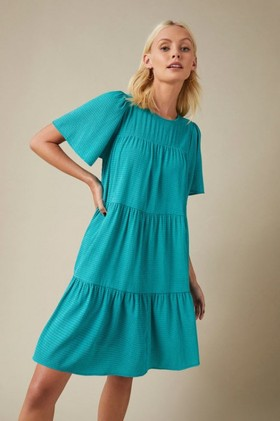 Emerge-Textured-Tiered-Dress on sale