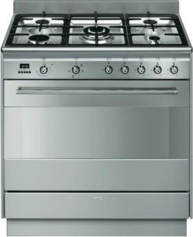 Smeg-90cm-Dual-Fuel-Upright-Cooker on sale
