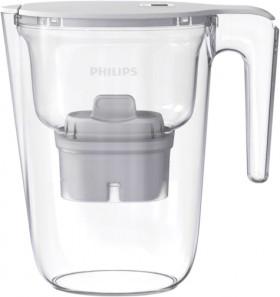 Philips-Water-Filter-Jug-Medium-2.6L-White on sale