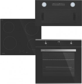 Omega-60cm-Pyrolytic-Oven-Electric-Cooktop-Pack on sale