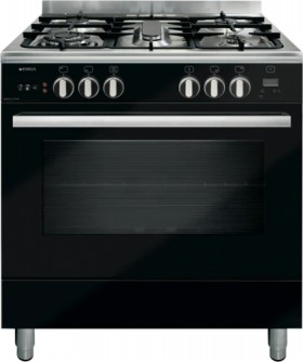 Emilia-80cm-Gas-Upright-Cooker-Black on sale