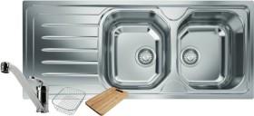 Franke-Ondaline-Double-Bowl-Sink on sale