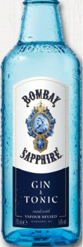 Bombay-Sapphire-Gin-Tonic-5.4-4-Pack on sale