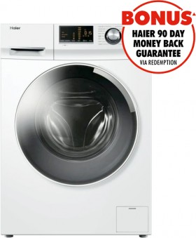 Haier-7.5kg-Front-Load-Washer on sale