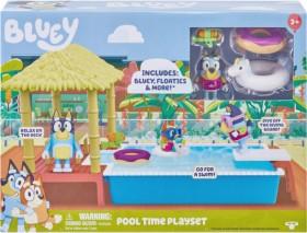 Bluey-Pool-Time-Playset on sale
