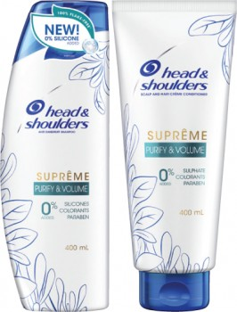 Head-Shoulders-Suprme-Purify-Volume-Shampoo-or-Conditioner-400mL on sale