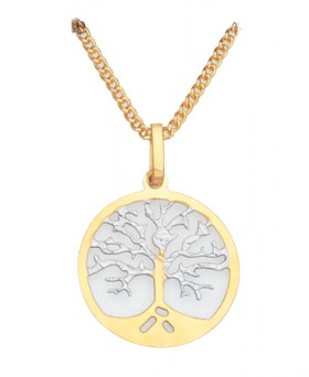 9ct-Gold-Italian-Made-Kindred-Spirit-Tree-Pendant on sale