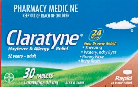 Claratyne-Hayfever-Allergy-Relief-30-Tablets on sale
