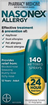 Nasonex-Allergy-140-Metered-Sprays on sale