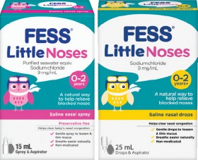 Fess-Little-Noses-15mL-Spray-Aspirator-or-25mL-Drops-Aspirator on sale