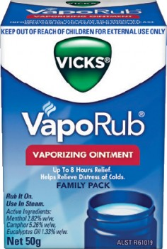 Vicks-VapoRub-Vaporizing-Ointment-50g on sale