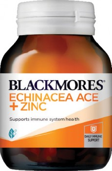 Blackmores-Echinacea-ACE-Zinc-60-Tablets on sale