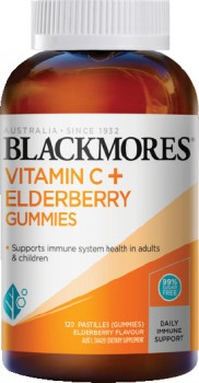 Blackmores-Vitamin-C-Elderberry-Gummies-120-Pastilles on sale
