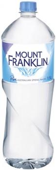 Mount-Franklin-Spring-Water-1.5-Litre on sale