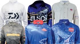 All-Fishing-Shirts-by-Daiwa-Penn-Abu-Garcia-Berkley-Berkley-Gulp-ZMan-Zerek-Wilson on sale