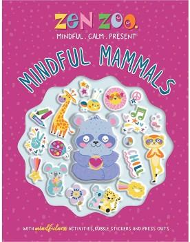 Zen-Zoo-Mindful-Mammals-Bubble-Sticker on sale