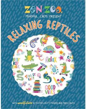 Zen-Zoo-Relaxing-Reptiles-Felt-Sticker on sale