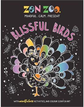 Zen-Zoo-Blissful-Birds-Scratch-Art on sale