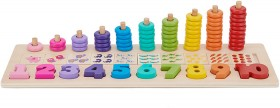 Wooden-Stack-and-Count-Set on sale