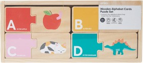 NEW-Wooden-Alphabet-Cards on sale