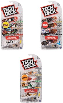 Assorted-4-Pack-Tech-Deck-96mm-Fingerboard on sale