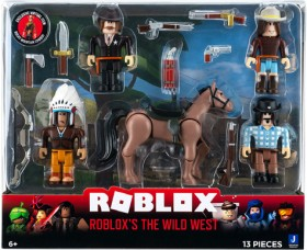 Roblox-The-Wild-West-Action-Figure-Pack on sale