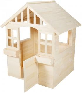 FSC-Certified-Wooden-Cubby-House on sale