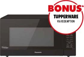 Panasonic-44L-Inverter-Sensor-Microwave-Black on sale