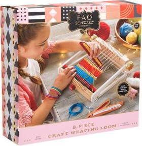 FAO-Schwarz-Toy-Craft-Weaving-Loom-Set on sale