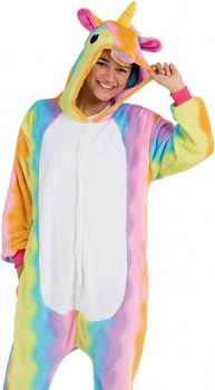 Rainbow-Unicorn-Adult-Novelty-Onesie on sale