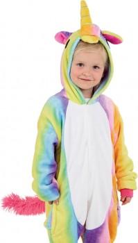 Rainbow-Unicorn-Kids-Novelty-Onesie on sale