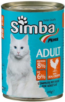 Simba-Cat-Food-415g-Chicken on sale