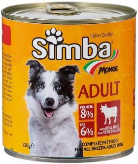 Simba-Dog-Food-720g-Beef-Vegetables on sale