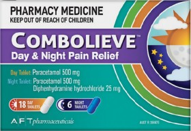 Combolieve-Day-Night-Pain-Relief-24-Tablets on sale
