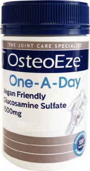 OsteoEze-One-A-Day-Vegan-Friendly-Glucosamine-Sulfate-1500mg-120-Tablets on sale