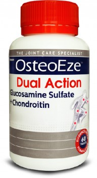 OsteoEze-Dual-Action-Glucosamine-Sulfate-Chondroitin-60-Tablets on sale