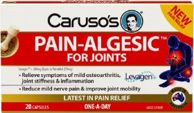 Carusos-Natural-Health-Pain-Algesic-for-Joints-20-Capsules on sale