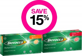 Save-15-on-Selected-Berocca-Products on sale