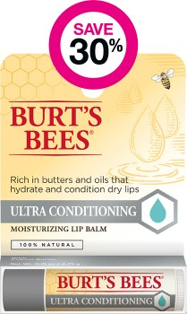 Save-30-on-Selected-Burts-Bees-Lip-Care-Products on sale