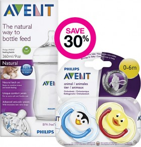 Save-30-on-Selected-Avent-Baby-Accessory-Products on sale