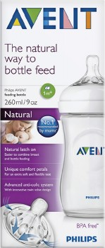 Philips-Avent-Baby-Feeding-Bottle-Natural on sale