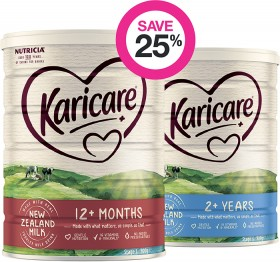 Save-25-on-Selected-Karicare-Baby-Formula on sale