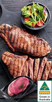 Australian-Beef-Rump-Steak on sale