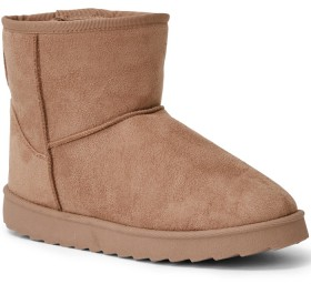 Brilliant-Basics-Microsuede-Boots on sale
