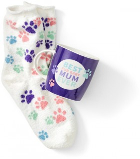 Pet-Mum-Mug-and-Sock-Set on sale