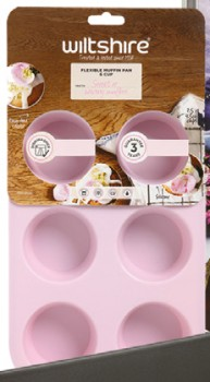 Wiltshire-6-Cup-Silicone-Mini-Muffin-Pan on sale