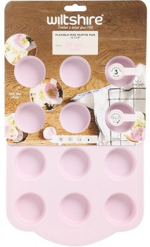 Wiltshire-12-Cup-Silicone-Mini-Muffin-Pan on sale