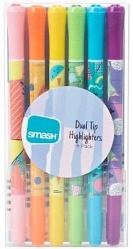 Smash-6-Pack-Dual-Tip-Highlighters on sale