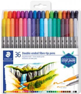 Staedtler-36-Pack-Design-Journey-Fibre-Tip-Pen-3.0mm on sale