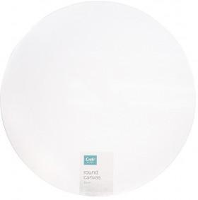 NEW-Craftsmart-Blank-Canvas-Round-35cm on sale